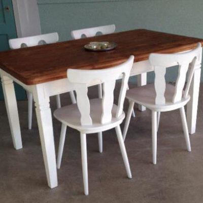 Cafestoelen - Bistro stoelen in massief hout