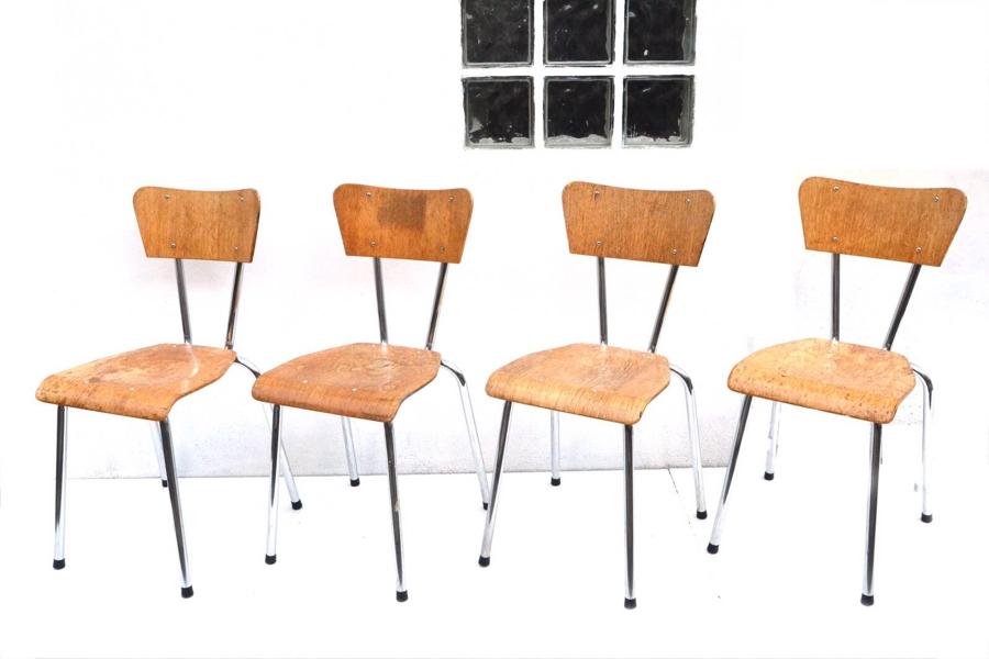 59aa4859d0d Stor skæbne af elegante kantine stole - The Good Stuff Factory