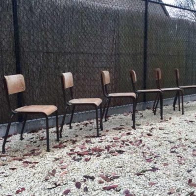 เก้าอี้โรงอาหารวินเทจเก้าอี้วางซ้อนกันได้ร้านอาหารเก้าอี้ร้านอาหาร _GoodStuffFactory
