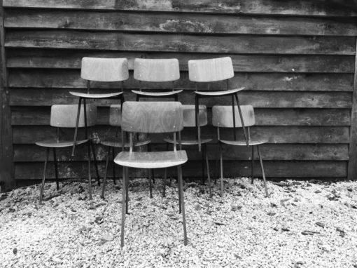 Marko Veendam schoolstoel of kantinestoel plywood obo eromes THIN FRAME_GoodStuffFactory