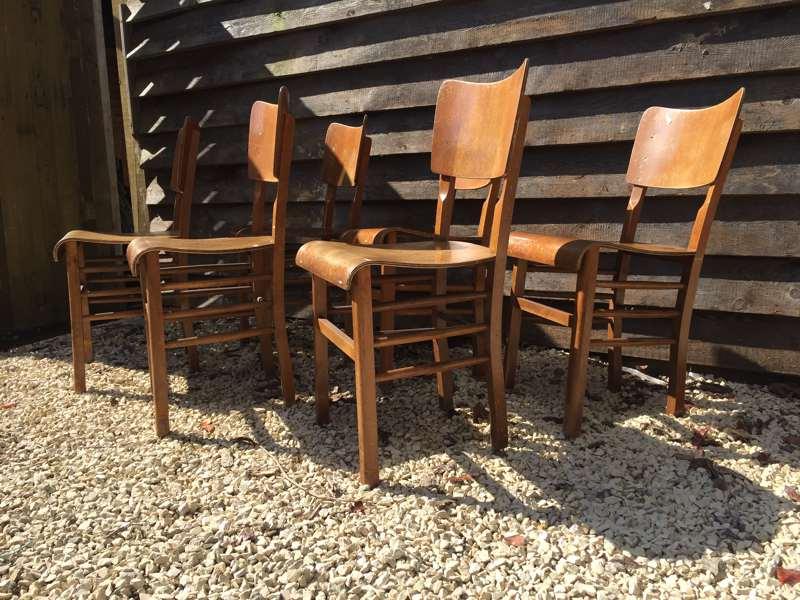 Houten Stoel Vintage.Mooie Volhouten Atelierstoelen The Good Stuff Factory