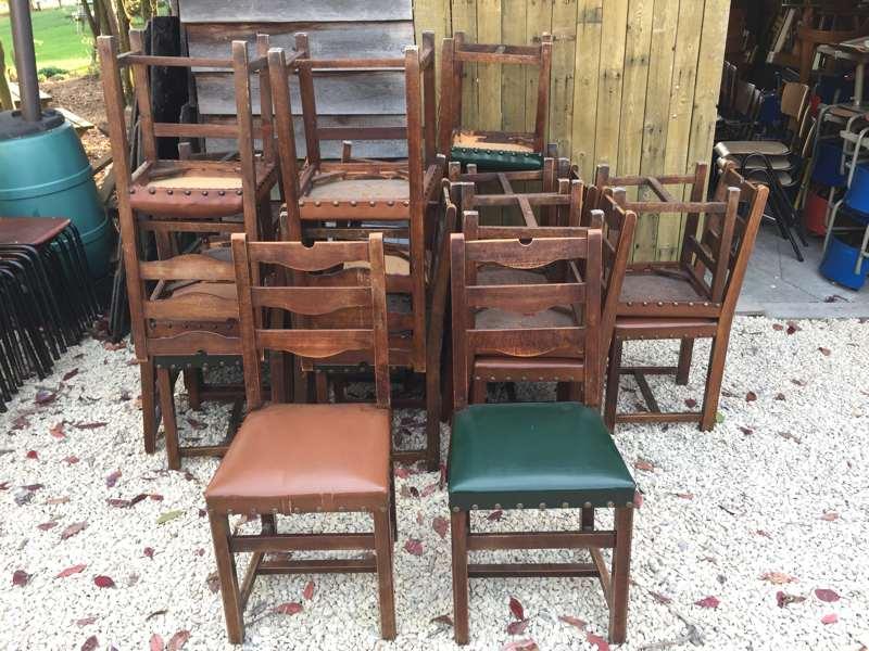jachtstoelen eetkamerstoelen vintage leder hout_goodstufffactory
