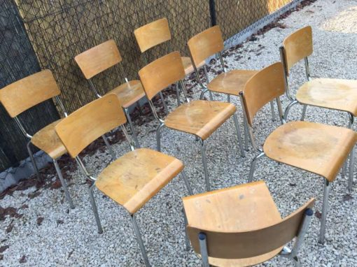 vintage industrial STAPEL stoelen chroome frame_GoodStuffFactory