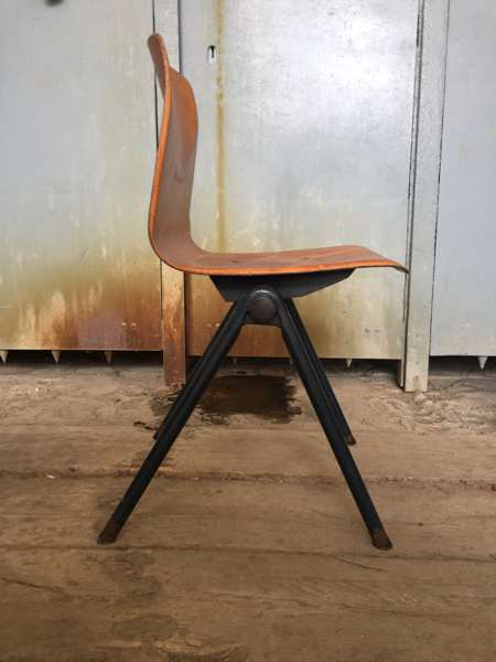 PAGHOLZ FLOTOTTO old chair vintage Galvanitas S30 GoodStuffFactory