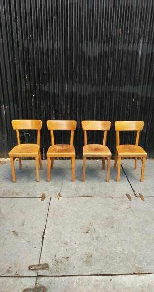 hout wood volhouten cafestoelen stoelen bar resto barista vintage retro GoodStuffFactory