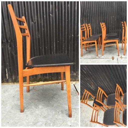 Retro Design Stoelen.Derliaus Kėdės Is Sestojo Desimtmecio Good Stuff Factory