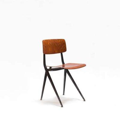 ynske kooistra spinstoel 102 Marko Eromes Holland pagholz dinner chair 1960 vintage GoodStuffFactory