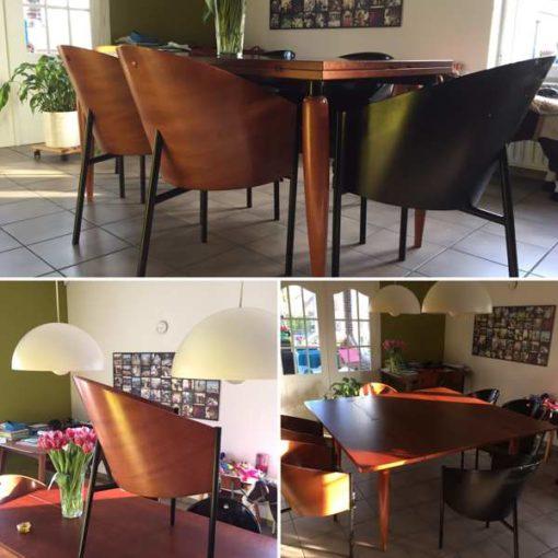 Design Stoelen Philippe Starck.Chimiro Che 6 Philippe Stark Costes Zvigaro Uye Tafura
