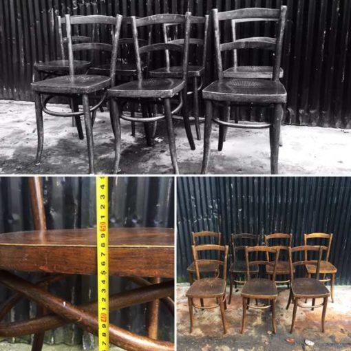 6 Cafe Stoelen.Bar Barista Cafe Chairs The Good Stuff Factory