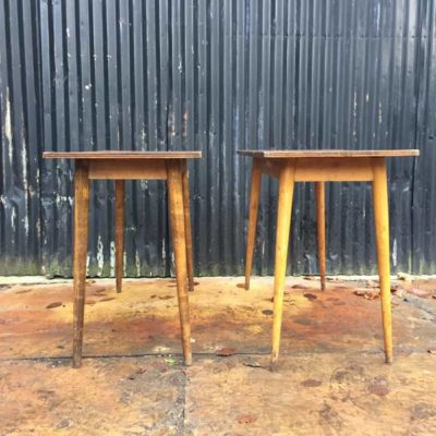 HORECA cafetafel table kantine cafe bois loft industriel vintage retro_GoodStuffFactory