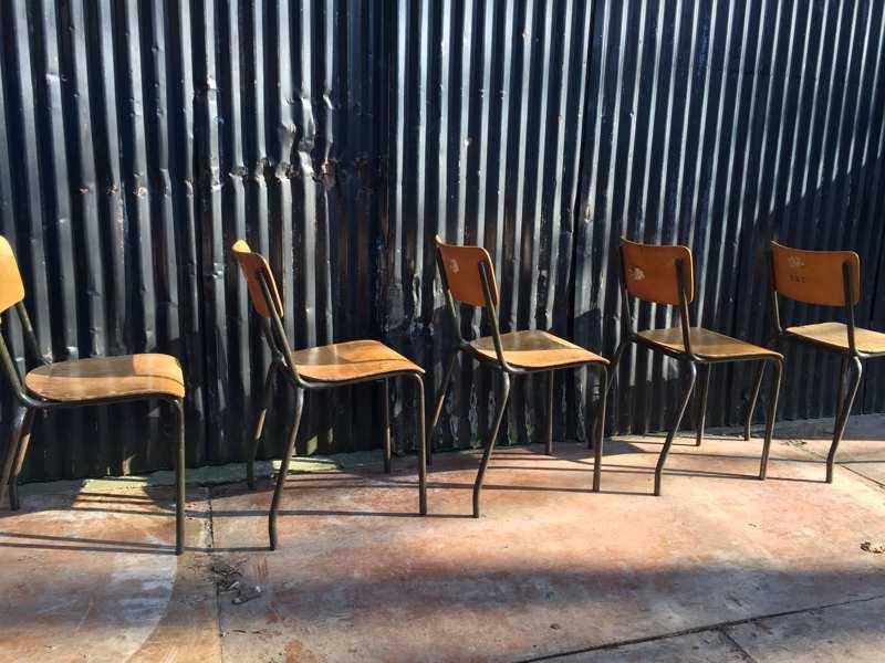 Stoer Industriele Eetkamerstoelen : Mooie stoere industriële stoelen mét veel karakter the good