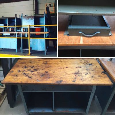 table tafel terras servicetafel table de service Horeca retro stoer vintage industrieel plooi brasserie bistro fer_GoodStuffFactory
