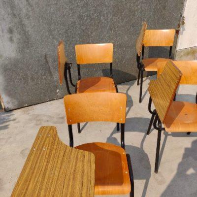 zwarte polywood klap vintage bar barista koffiebar stoel