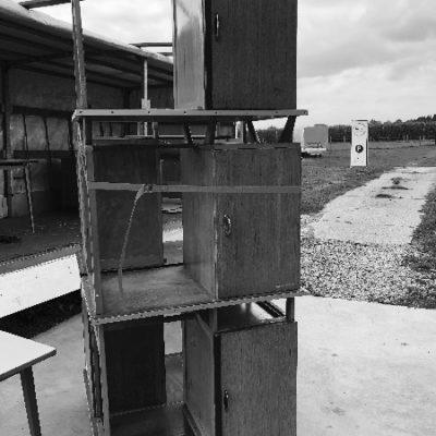 houten vintage bureau_thegoodstufffactory