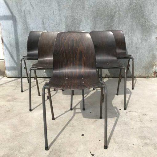 stapelstoel kantinestoel vintage Horeca retro vintage industrieel galvanitas_GoodStuffFactory