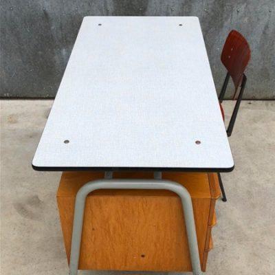 tubax vintage retro buro industrial industrieel bureau desk office_thegoodstufffactory