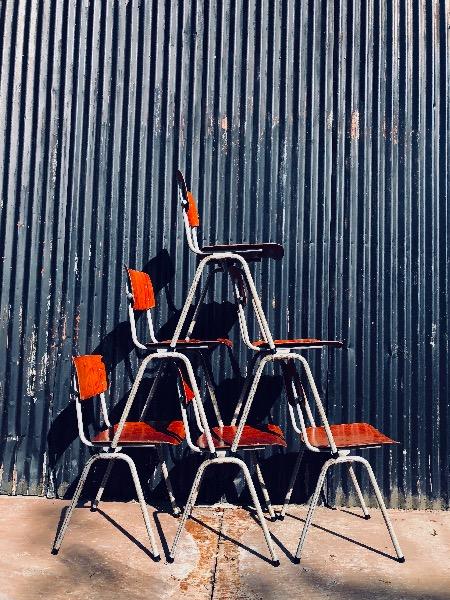 Obo eromes vintage chair stoell skolstolar brocante horeca_thegoodstufffactory