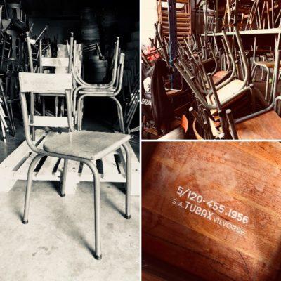 TUBAX vintage chair stoel brocante industrielle horeca_thegoodstufffactory