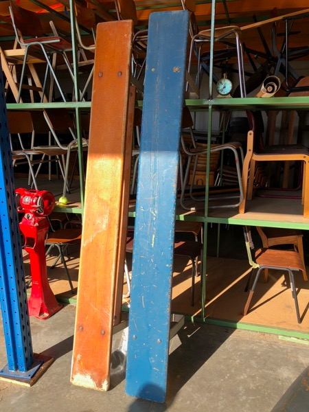 bank bancs vintage industrial industrielle brocante_thegoodstufffactory