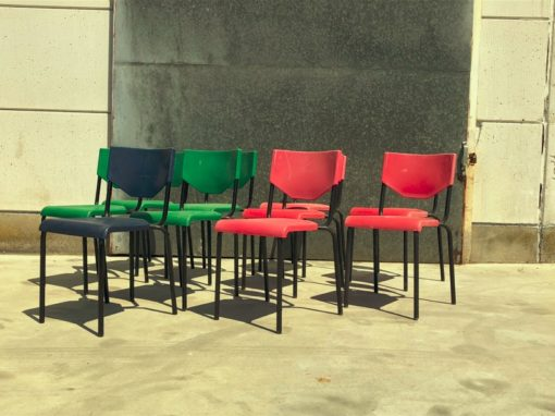 polyprop coloured vintage CHAIRS_thegoodstufffactory_be
