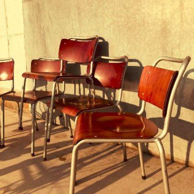 Gispen Th Delft dutch industrial horeca Vintage chair chaise stuhl stolar_thegoodstufffactory_be