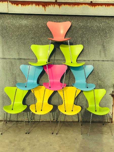 Fritz Hansen Design Stoelen.Vlinderstoel Arne Jacobsen Voor Fritz Hansen Deens Design The Good