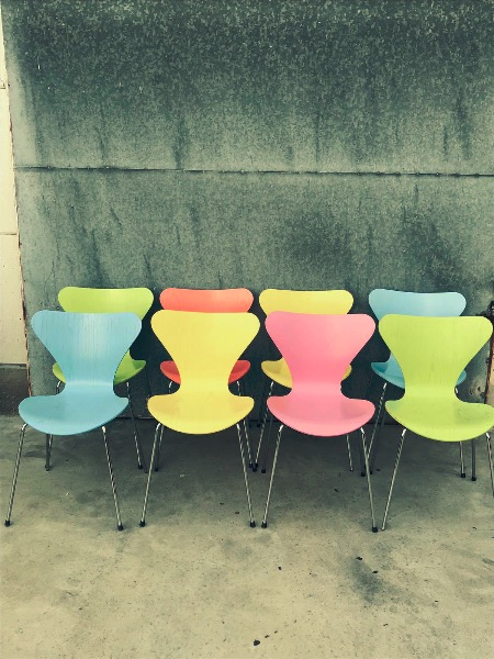 Vlinder Bureaustoel Arne Jacobsen.Vlinderstoel Arne Jacobsen Voor Fritz Hansen Deens Design The
