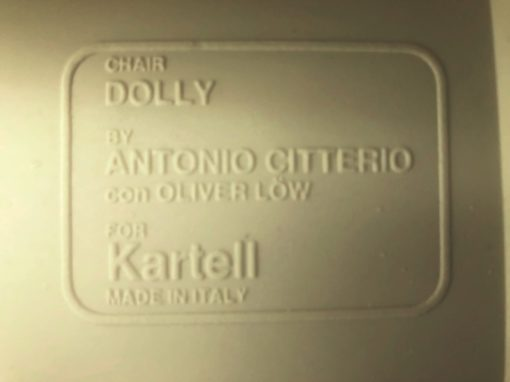 kartell dolly foldable chair stoel chaise design Italy Antonio Citterio Oliver Löw_thegoodstufffactory_be