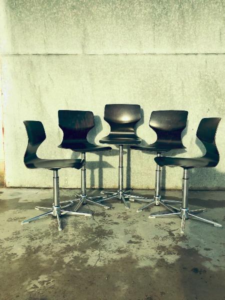 pagholz vintage retro galvanitas chaise stuhl stolar etoilé stervoet