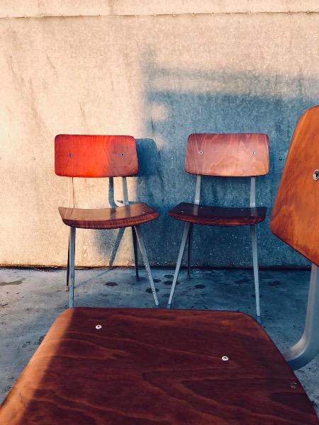 Friso Kramer Result Ahrend DE cIRKEL chaise stuhl vintage retro Hay_thegoodstufffactory_be