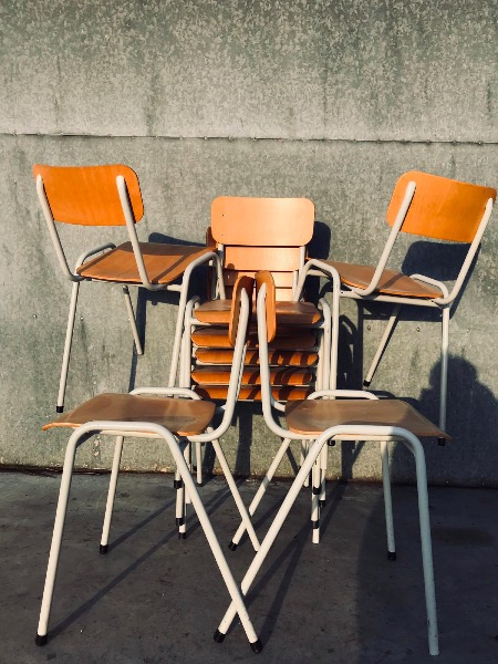 chaises stuhl stolar stoelen vintage retro cafe horeca pub bar_thegoodstufffactory_be