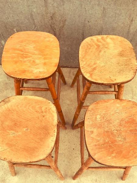 kruk tabouret cafe vintage_thegoodstufffactory_Be