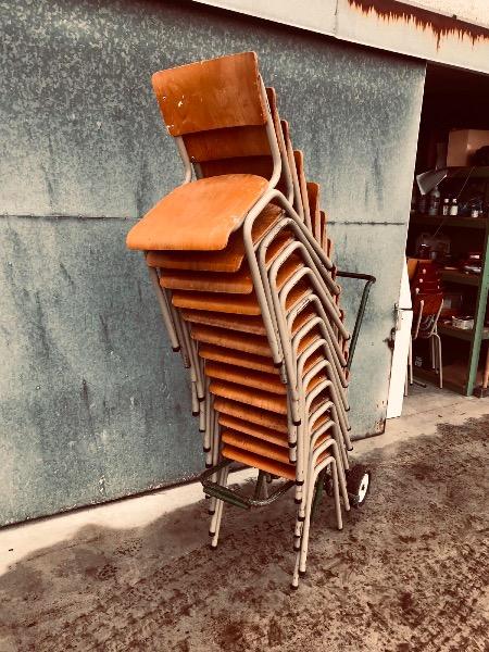 Elbe kantine stoelen vintage retro brocante chaise stoel_thegoodstufffactory_be