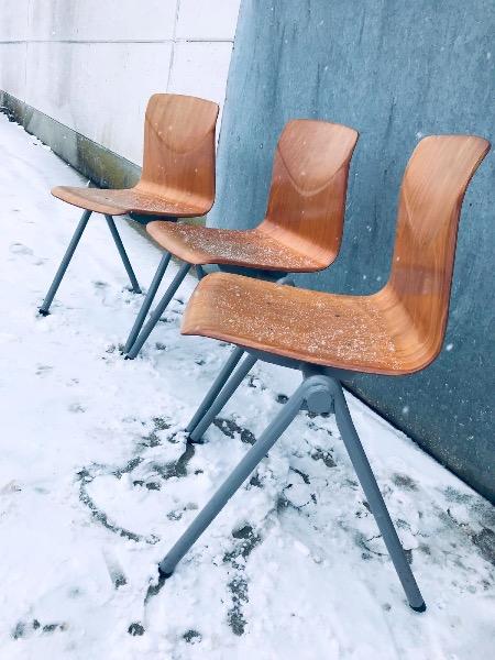 Galvanitas S30 chaise chair GREY prouvé_thegoodstufffactory