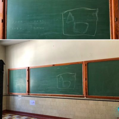 blackboard schoolbord XXL VINTAGE_thegoodstufffactory_be