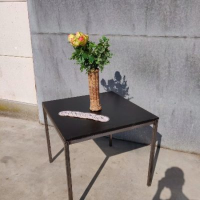 terras horeca table ZWART NOIR metal industrial_thegoodstufffactory_BE
