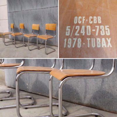 Tubax chrome mulca schoolchair vintage industrial antiques_thegoodstufffactory_be