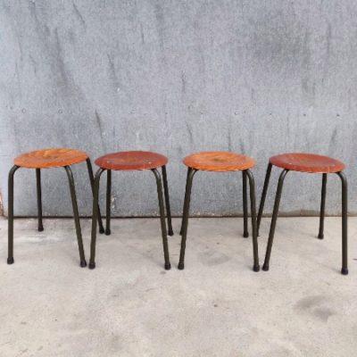 krukjes horeca pagholz PAGWOOD industrial antiques stolar stulhl tabouret_thegoodstufffactory_be