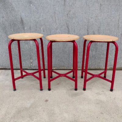 old school industrial stools_thegoodstufffactory_Be