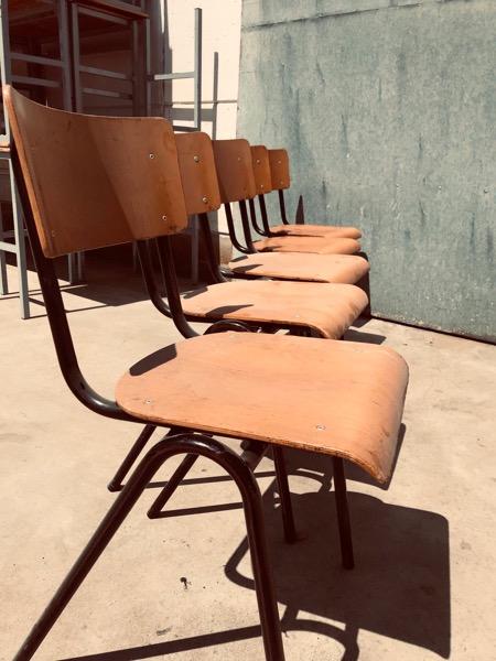 black vintage stoel chaise_thegoodstufffactory_be