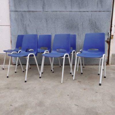 blauwe vintage terrasstoelen_thegoodstufffactory_Be
