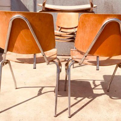design vintage chrome chaise stuhl_thegoodstufffactory_be