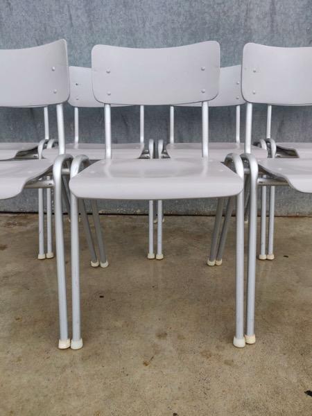grey horeca chairs vintage_thegoodstufffactory_be