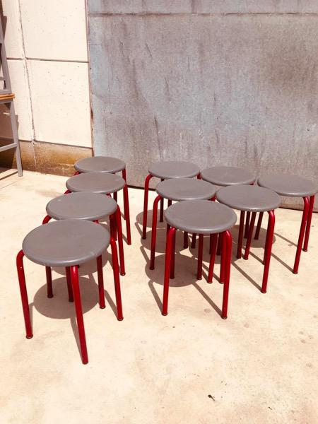kruk tabouret industrial topper interieur en exterieur binnen en buiten terras pop up store_thegoodstufffactory_be
