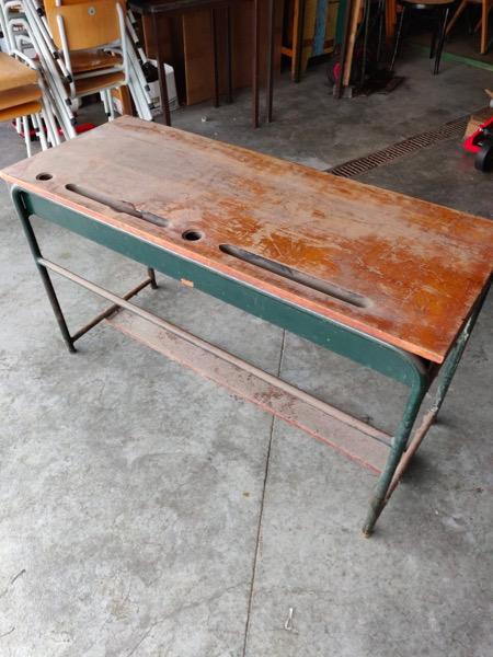 oude schoolbanken vintage_thegoodstufffactory_be