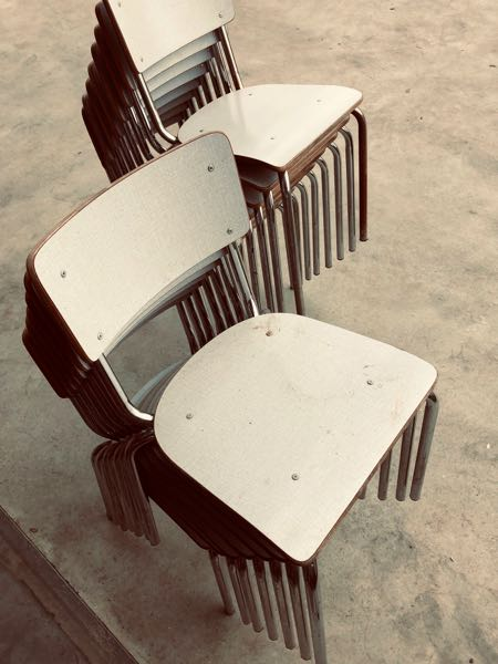 Formica factory chairs chaises vintage industrial antiques_thegoodstufffactory_be