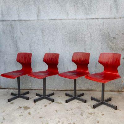 thur-op-seat retro vintage kruisvoet pied étoile chine du jour_thegoodstufffactory_be