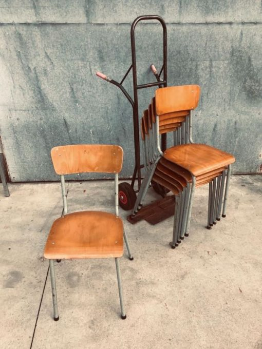 RAW อุตสาหกรรมออกแบบวินเทจย้อนยุคอายุเจ็ดสิบเก้าอี้โต๊ะ _thegoodstufffactory_Be