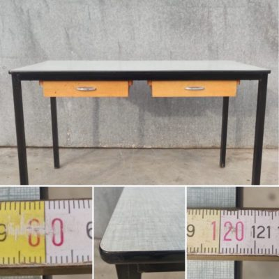 Pepa o le table formica Tableroirs sliders vintage retro dutch design must have_thegoodstufffactory