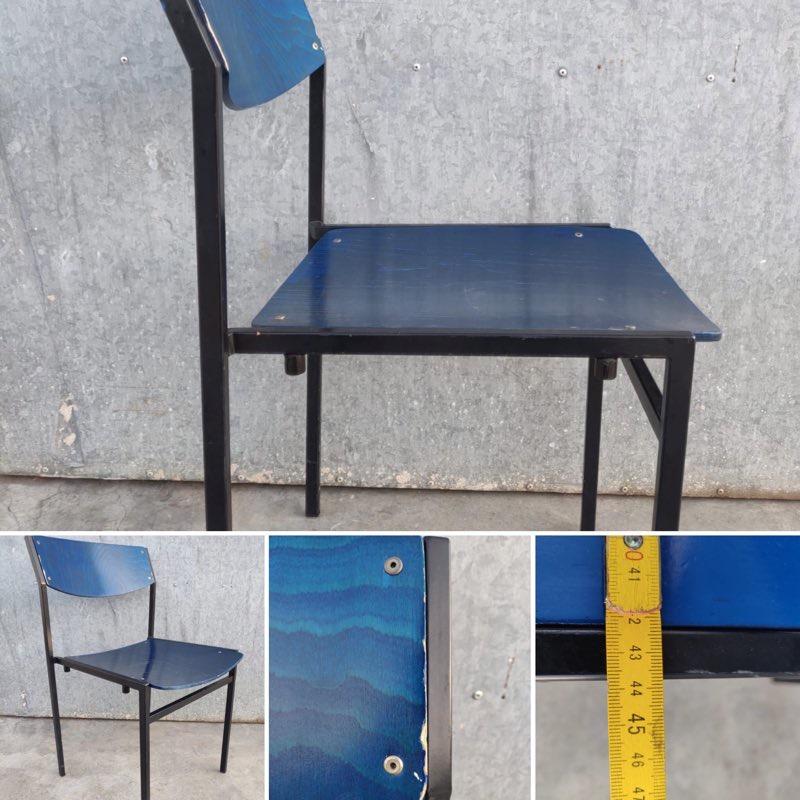 3 Design Stoelen.Grazios Derliaus Pramoninės Valgyklos Kėdės Gijs Van Der Sluis